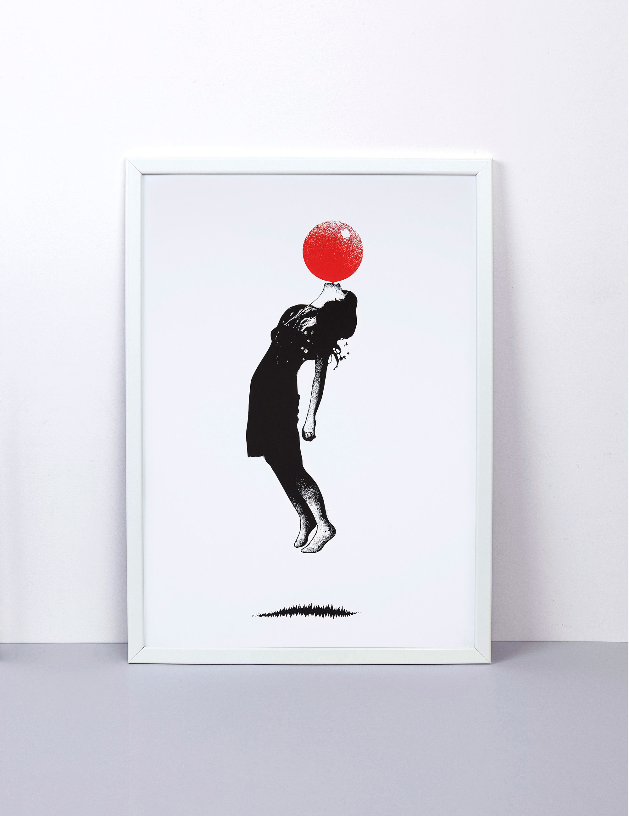 Blow Up Screen print by Eelus