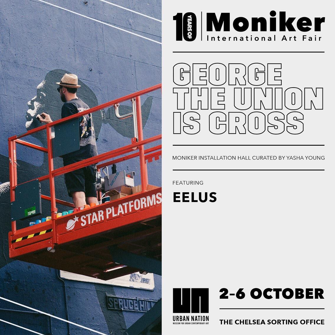 Eelus At Moniker Art Fair 2019