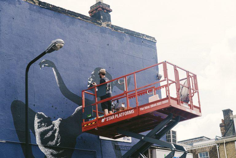 Eelus Mural in Walthamstow