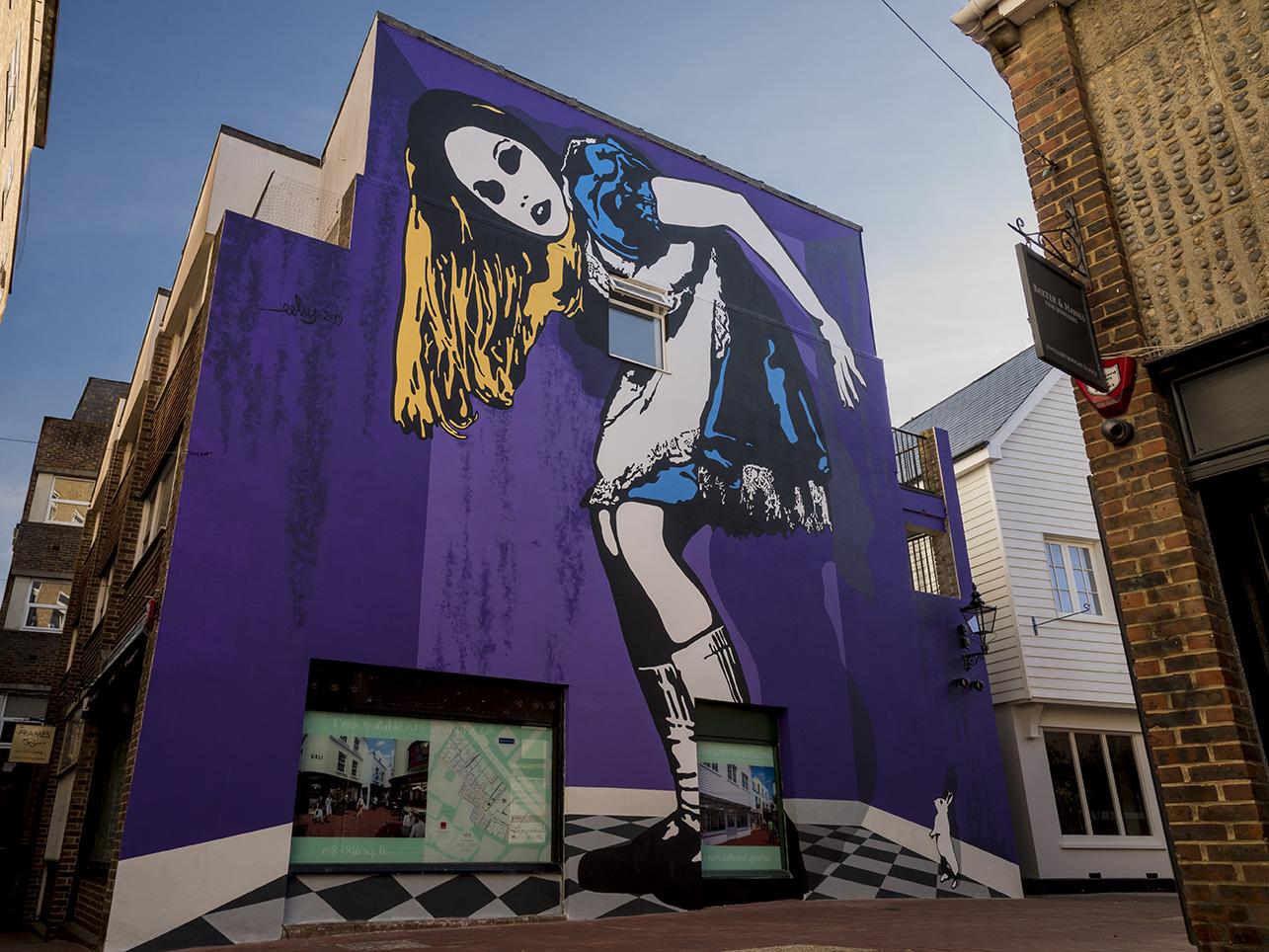 Alice Mural by Eelus