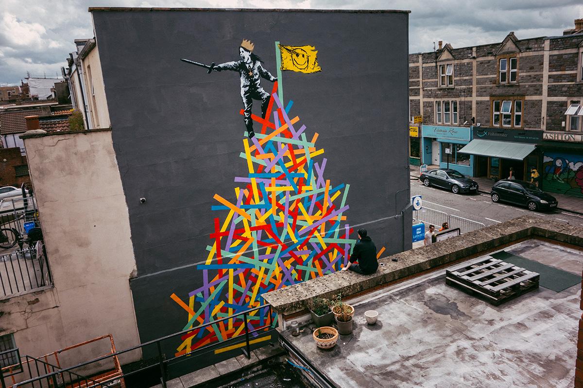 Eelus mural at Upfest