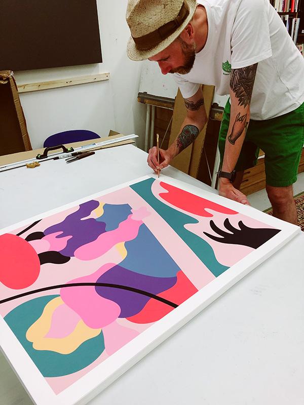 The Escape by Contemporary artist Lee Eelus