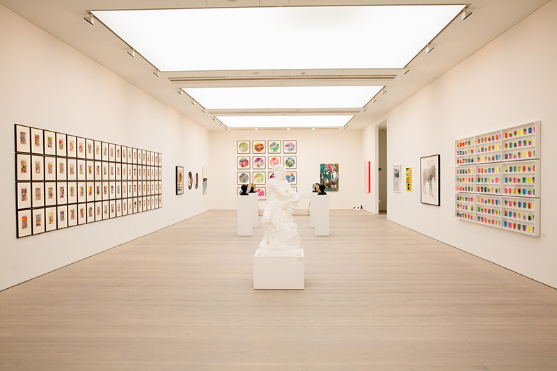 Jake & Dinos Chapman, Miaz Brothers, Jess Wilson, Charming Baker, Miss Bugs (artists). RIGHT HERE RIGHT NOW (19 Aug - 9 Sept 2021). © Piers Allardyce, 2021. Image courtesy of Saatchi Gallery, London